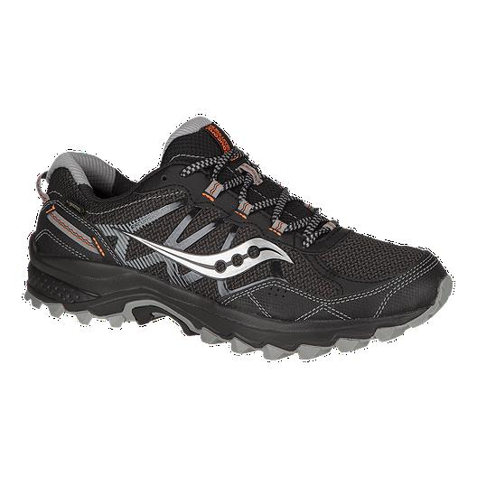 9ed15b89f124 Saucony Men s Excursion TR11 GTX Trail Running Shoes - Black Orange ...