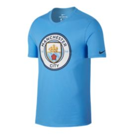 Manchester City Nike Evergreen Crest T Shirt