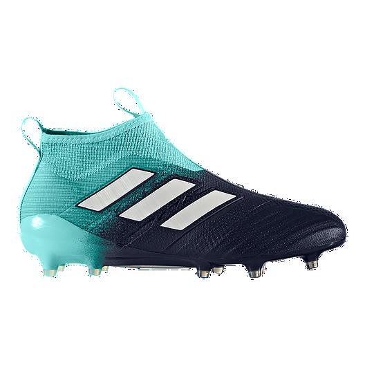 quality design 3ee24 3aad2 adidas Men s Ace 17+ Pure Control FG Outdoor Soccer Cleats - Aqua White  Black   Sport Chek