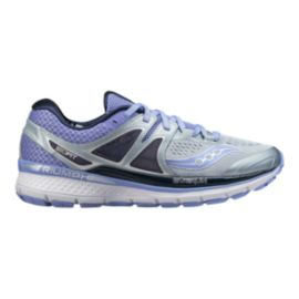 Saucony Women's Everun Triumph ISO 3 Running Shoes - Grey/Purple