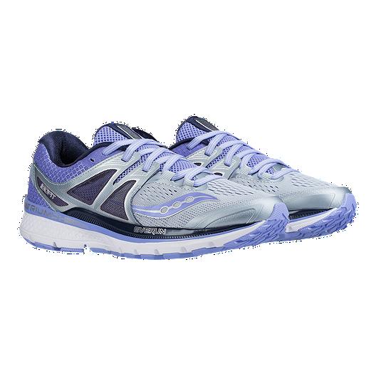73fa0731b4ab Saucony Women s Everun Triumph ISO 3 Running Shoes - Grey Purple. (4). View  Description