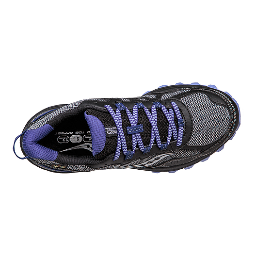a3f838357343 Saucony Women s Excursion TR11 GTX Trail Running Shoes - Grey Black ...