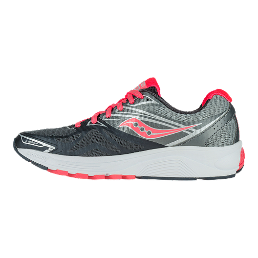 5c3780ce Saucony Women's Everun Ride 9 Running Shoes - Grey/Coral