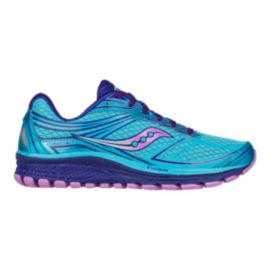 Saucony Women's Everun Guide 9 Running Shoes - Blue/Purple/Pink