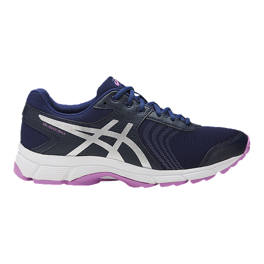 29325faa39f0 ASICS Women s Gel Quickwalk 3 Walking Shoes - Blue Silver