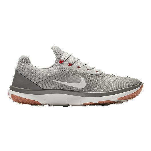 9513fbafb26c6 Nike Men s Free Trainer V7 Training Shoes - Grey Ivory Stucco ...