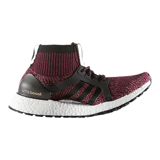 1e7496348 ... uk adidas womens ultra boost x all terrain running shoes ruby red black  pink d6d51 cf6d8