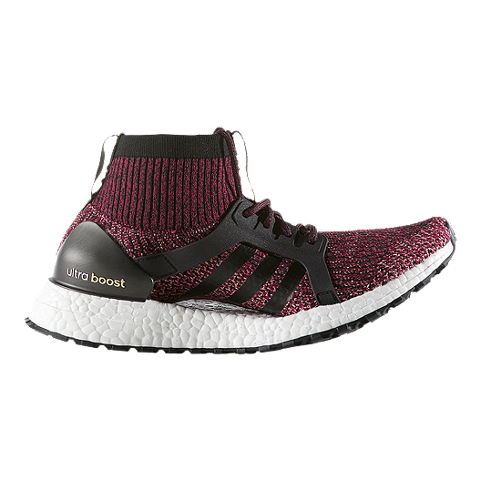 0f3cbc2e3 adidas Women s Ultra Boost X All Terrain Running Shoes - Ruby Red Black Pink