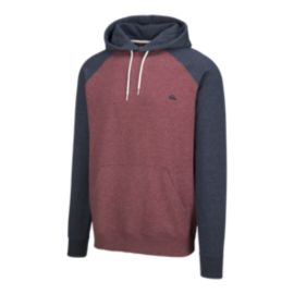 Quiksilver Men's Everyday Pullover Hoodie - Pomegranate Heather