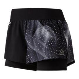 Reebok Women's 2-in-1 Shorts