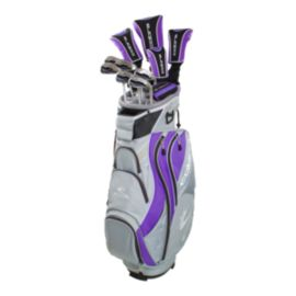 Cobra XL Women's Package Set - Silver/Purple
