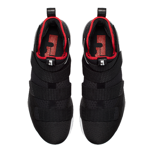 0bf6f4149b0 Nike Men s LeBron Soldier XI Basketball Shoes - Black Red. (3). View  Description