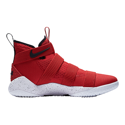c8ee0db57d8f Nike Men s LeBron Soldier XI Basketball Shoes - Red White