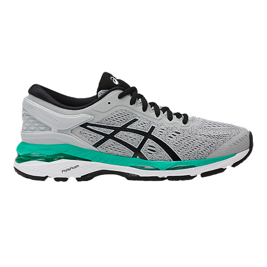 official photos bcbc2 eb4e4 ASICS Women's Gel Kayano 24 Running Shoes - Grey/Black/Green