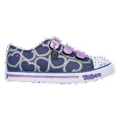 Skechers Girls  Twinkle Toes Sparkle Glitz Preschool Shoes - Purple ... 70245b6e25f8