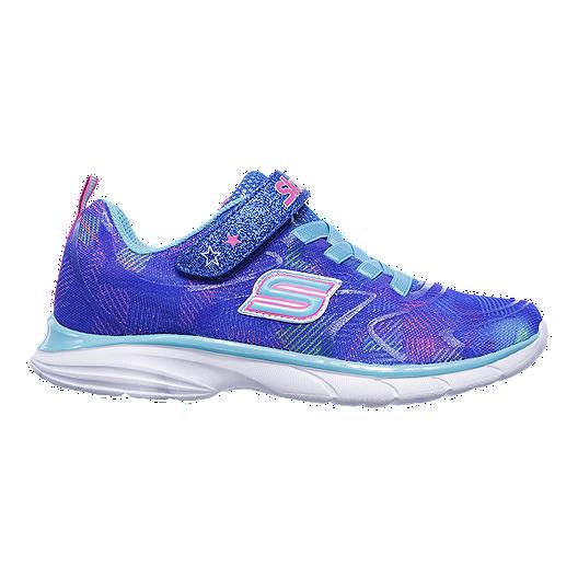 f8d6f2025cd5 Skechers Girls  Spirit Sprintz Rainbow Grade School Shoes - Purple White