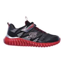 Skechers Kids' Spektrix LW AC Preschool Shoes - Black/Red