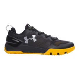Under Armour Men's TB Charged Ultimate TR Training Shoes - Black/Yellow