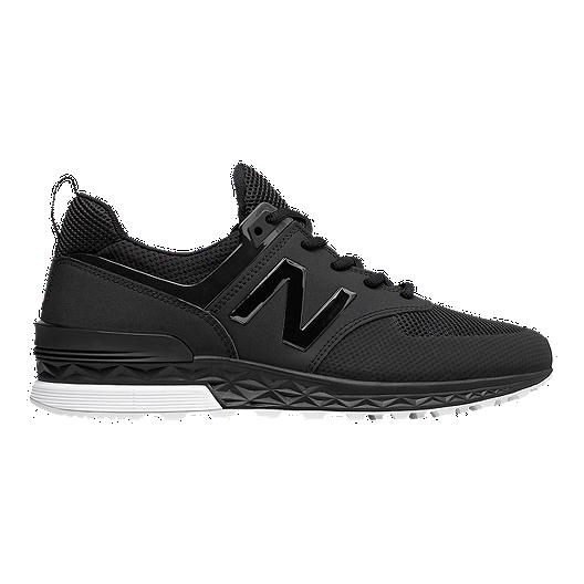 47c226e80cb89 New Balance Men's 574 Sport Shoes - Black/Black | Sport Chek