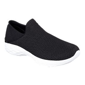 36531dbf4acc Skechers Women s YOU Casual Shoes - Black White