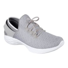 Skechers Women's YOU Lace Casual Shoes - Grey