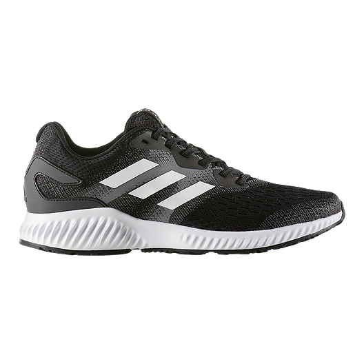 0cda0a485a03f adidas Men s Aero Bounce Running Shoes - Black White