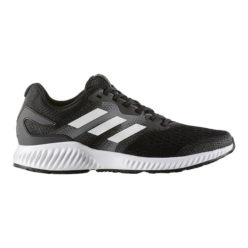 9409293aa adidas Men s Aero Bounce Running Shoes - Black White