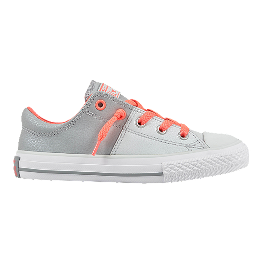 88e1706e05d4 Converse Girls  Chuck Taylor All Star Madison Ox Shoes - Platinum Punch