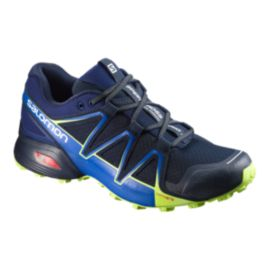Salomon Men's Speedcross Vario 2 Trail Running Shoes - Navy/Blue/Lime