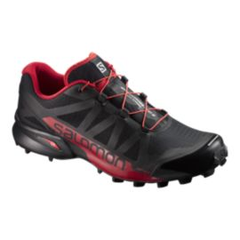 Salomon Men's Speedcross Pro Trail Running Shoes - Black/Red