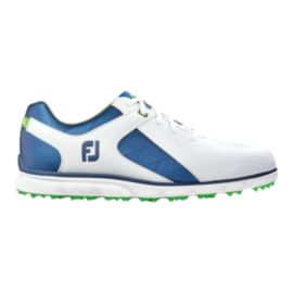FootJoy Men's Pro SL Golf Shoes - White/Navy