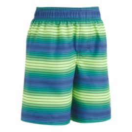 Under Armour Boys' Pulse Stripe Volley Swim Shorts