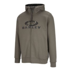 Oakley Men's Combat Full Zip Hoodie - Dark Brush Green
