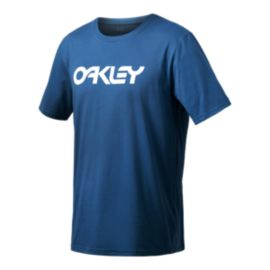 Oakley Men's 50 Mark II Short Sleeve T Shirt - California Blue
