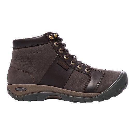 578481a658c Keen Men's Austin Mid Waterproof Hiking Boots - Eiffel