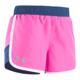Under Armour Girls' 4-6X Fast Lane Shorts