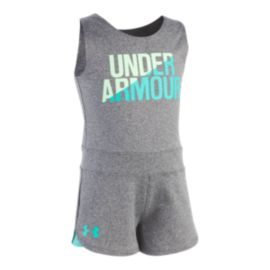 Under Armour Girls' 4-6X Primo Romper