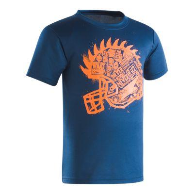 Under Armour Boys' 4-7 Never Retreat Short Sleeve T Shirt