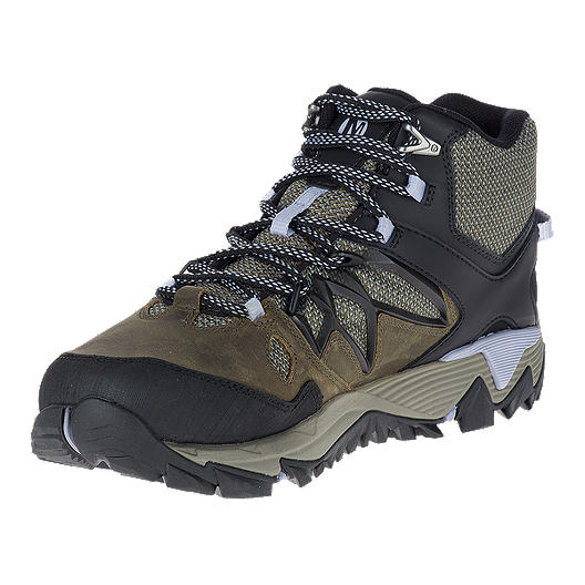 7493def2eaf4 Merrell Women s All Out Blaze 2 Mid Waterproof Hiking Shoes - Dark Olive.  (0). View Description