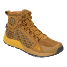 The North Face Men's Mountain Mid Waterproof Boots - Golden/Arrow