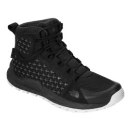 The North Face Men's Mountain Sneaker Mid Waterproof Boots - Black/White