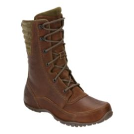 The North Face Women's Purna Luxe Mid Boots - Mid Bark/Beech