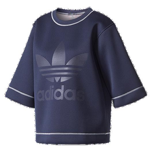 0323a214c2b26 adidas Originals Women s Copenhagen Trefoil Long Sleeve Shirt ...