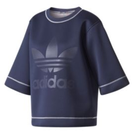 adidas Originals Women's Copenhagen Trefoil Long Sleeve Shirt