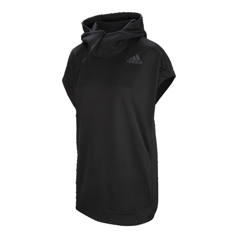 e54085068e93cd adidas Women s Shooter Short Sleeve Hoodie