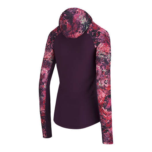 official various design save off adidas Women's Climawarm Floral Hoodie | Sport Chek