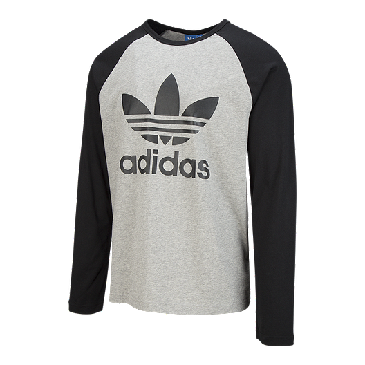 97bb831a0 adidas Originals Men's Trefoil Long Sleeve T Shirt | Sport Chek