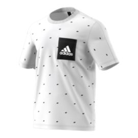 adidas Men's Essentials Seasonal Print Pocket T Shirt
