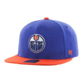 Edmonton Oilers Toddler Lil Shot Captain Hat