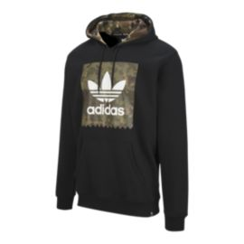 adidas Originals Men's Blackbird Camo Pullover Hoodie